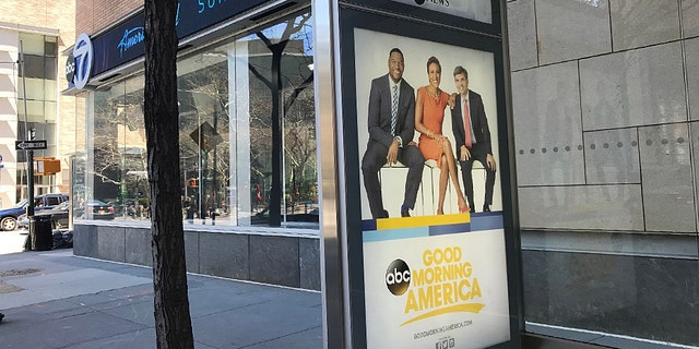 An ABC insider said Lara Spencer was furious when the network didn't include her on this very promotional billboard.