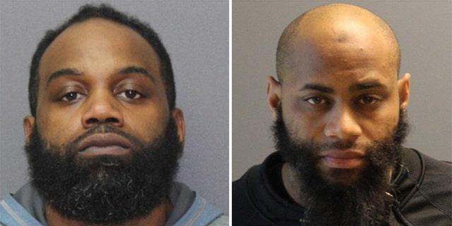 Andre Evans-El, left, and Brandon Tyre Jones were arrested in the incident.