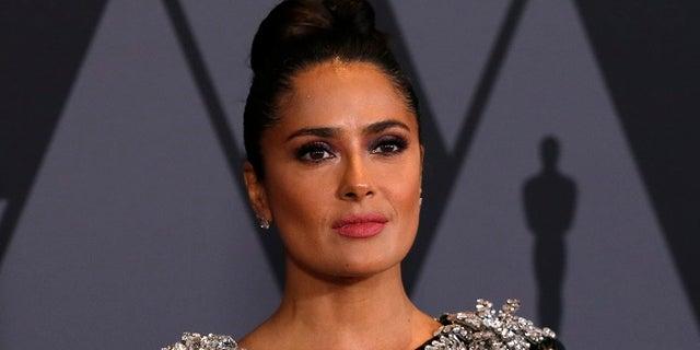"Salma Hayek said Harvey Weinstein came on to her when filming ""Frida."""