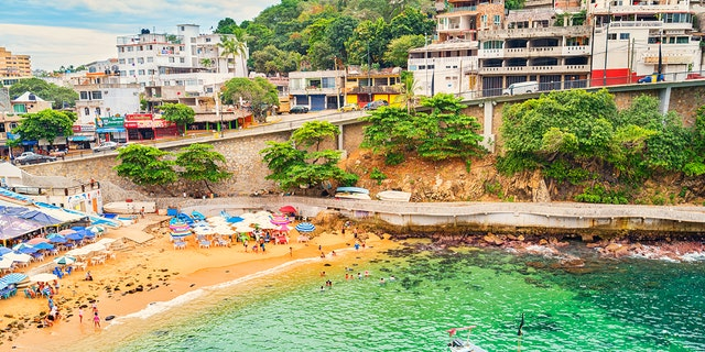 Acapulco rose in popularity as a famous international travel destination beginning in the late 1940s through the 1960s as Hollywood stars flocked to city.