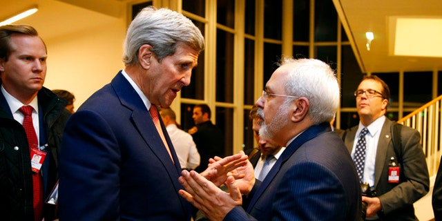Former Secretary of State John Kerry, pictured here in January 2016, met twice in recent months with Iran Foreign Minister Javad Zarif