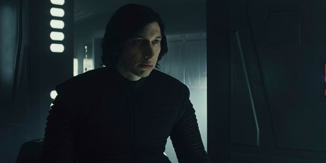 """Driver as Ren in """"The Last Jedi,"""" the latest installment in the epic """"Syar Wars"""" saga."""