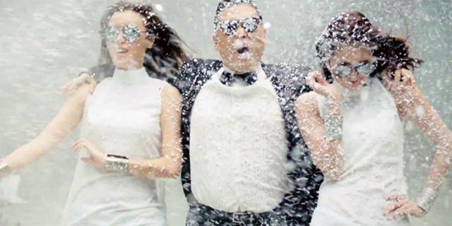 Gangnam Style notched almost a billion views in 2012.