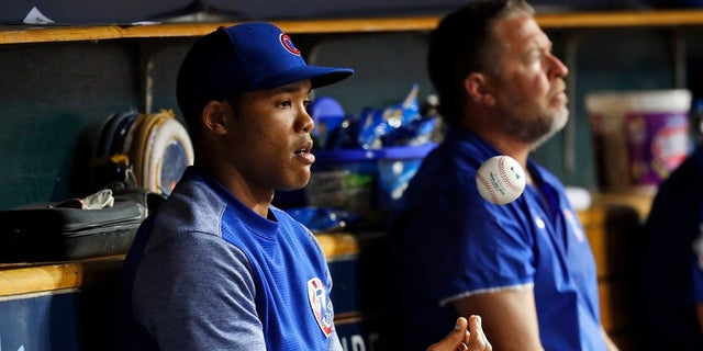 Addison Russell was placed on administrative leave Friday, Sept. 21, 2018, following fresh allegations of domestic violence by his ex-wife.