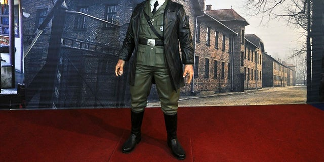 A wax figure of Adolf Hitler was removed from an Indonesian museum.