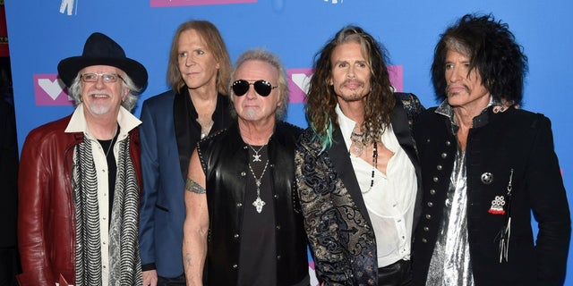 The members of Aerosmith have responded to a lawsuit filed against them by drummer Joey Kramer (middle).