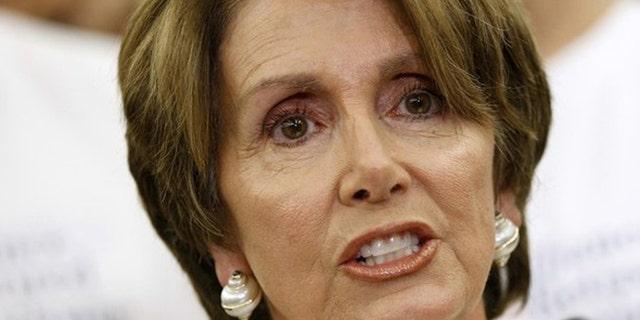 July 11, 2012: House Minority Leader Nancy Pelosi speaks on Capitol Hill in Washington.