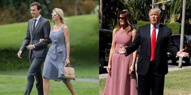 The two First Family members are known to favor similar styles.