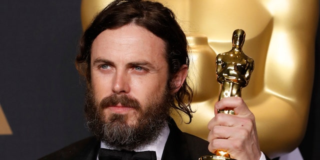 "Affleck after his Best Actor Oscar win for his role in ""Manchester by the Sea."""