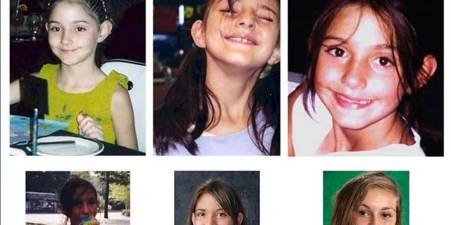 The U.S. Marshals Service provided age-progressed photos of Mary Nunes, who was allegedly taken from her custodial father and fled the United States to an unknown location.