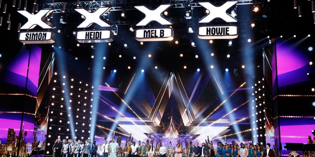 """Production of """"America's Got Talent"""" has been put on pause amid the coronavirus outbreak."""