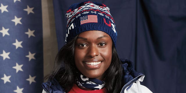 Team USA's closing ceremony's bomber jackets, seen here on bobsledder Aja Evans, will contain the same heating component.