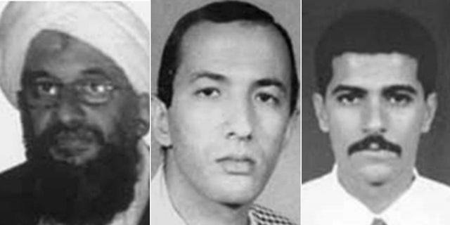 Ayman al-Zawahiri, Saif al-Adel and Abdullah Ahmed Abdullah, three 9/11-era Al Qaeda members, are still being sought in the wake of the attacks.