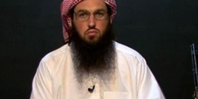 Al Qaeda American-born leader Adam Gadahn.