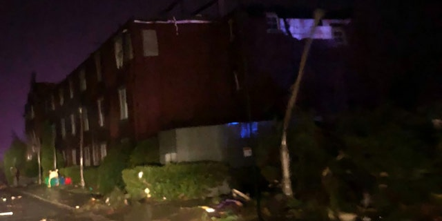 Severe weather ravaged the Southeast on Monday night, leaving behind widespread damage, thousands without power and at least one reported death.