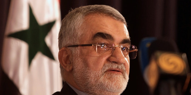 Alaeddin Boroujerdi, head of Iran's parliamentary committee on national security.