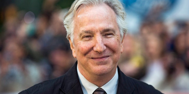 """Director Alan Rickman arrives for the """"A Little Chaos"""" gala during the Toronto International Film Festival (TIFF) in Toronto, September 13, 2014.    REUTERS/Mark Blinch (CANADA - Tags: ENTERTAINMENT) - RTR4647A"""