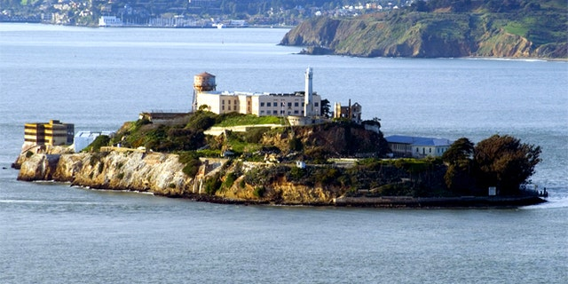 File photo - a view of Alcatraz Island.