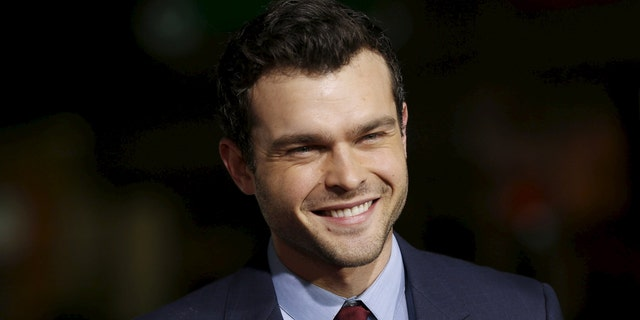 """Alden Ehrenreich will star as a young Han Solo in the new """"Star Wars"""" flick."""