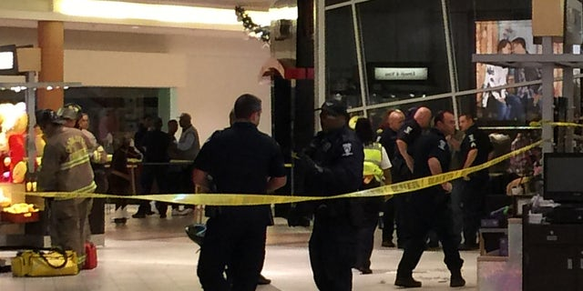 Police responded to a mall shooting in Charlotte.