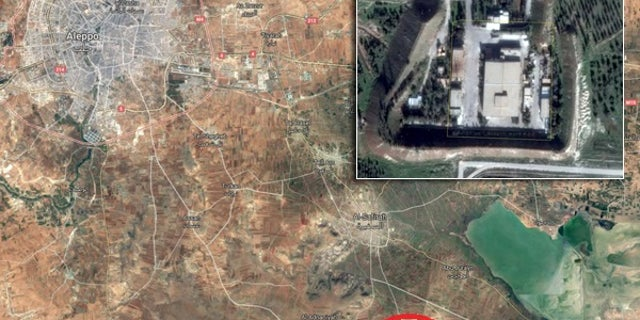 The National Council of Resistance of Iran claims that Iranian military forces have set up a headquarters about 20 miles southeast of Aleppo.