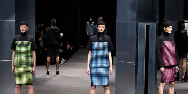 Feb 8, 2014. The Alexander Wang Fall 2014 collection is modeled during Fashion Week in New York.