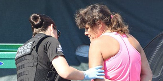 Alicia Murphy, 60, was taken into custody for a string of storage unit break-ins in Delray Beach, Fla.