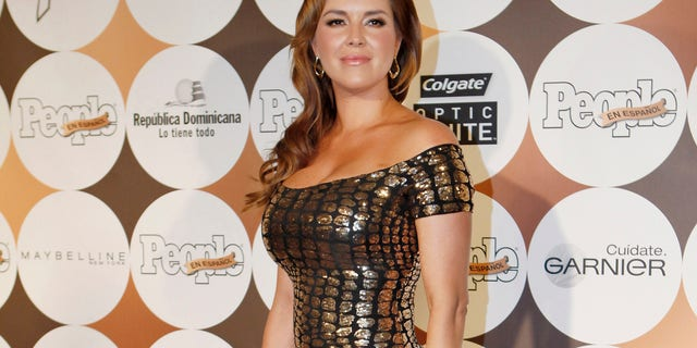 "Alicia Machado arrives to attend People En Espanol's annual ""50 Most Beautiful"" event in New York, May 15, 2012."