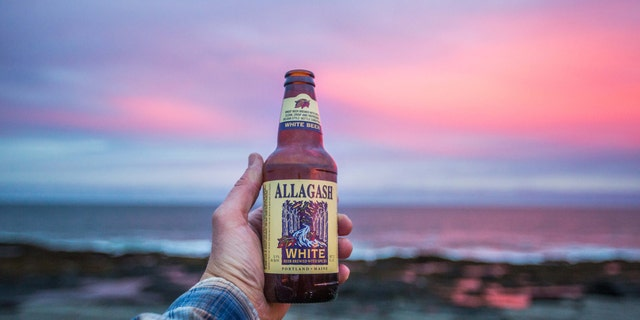 Allagash White is a refreshingly light witbier.