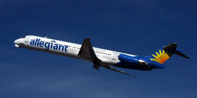 The incident occurred on the Las Vegas-based budget airline over the weekend.