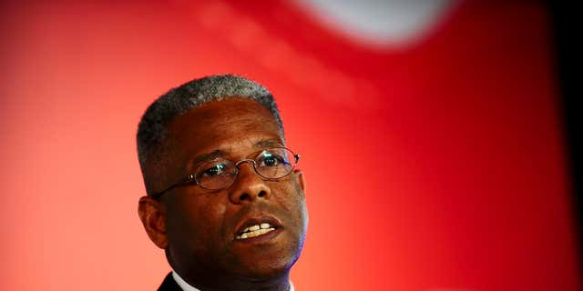 Former Rep. Allen West said he received a text saying the Navy would charge Lt. Cmdr. Timothy White.