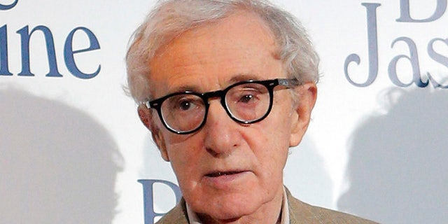 "Woody Allen at the French premiere of ""Blue Jasmine,"" in 2013."