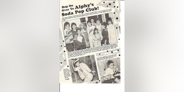 An ad for Alphy's Soda Pop Club was featured on Hoffman's apparent, now-deleted, MySpace page.