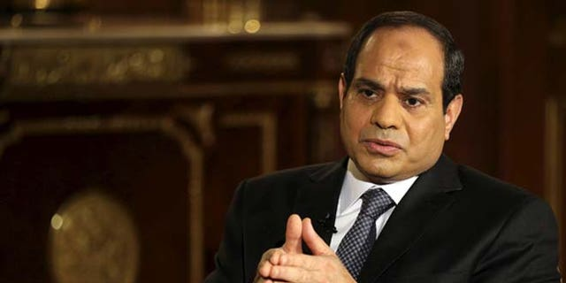 Al-Sisi is seen as a protector of his nation's Christian community.