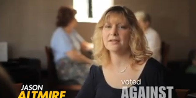 Shown here is a campaign ad for Democratic Rep. Jason Altmire. (YouTube)
