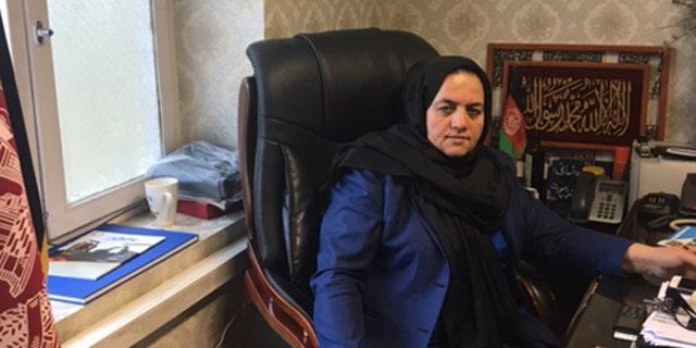 Brig. Gen. Muslima Amani in her office