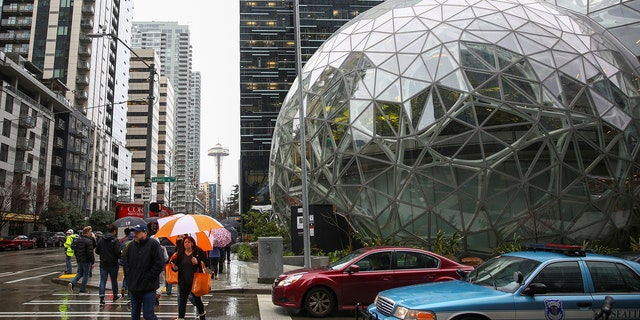 By far, the biggest impact will be felt by Amazon (above.) With a $540 tax on each of its 40,000 Seattle employees, the online retailer will pay $21.6 million by way of the head tax. Amazon is already trying to be part of the solution to homelessness. It's spending $10 million to build a homeless shelter inside one of its many new office towers downtown.