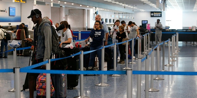 The cashless system is supposed to speed up check-in and make things easier for desk agents.
