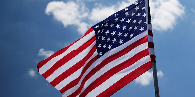 A grade school in Los Altos, California posted the American flag upside down recently.