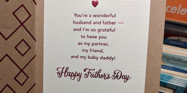 Target removing baby daddy fathers day cards after shoppers call the company that makes the card said the message on the front was taken out of m4hsunfo