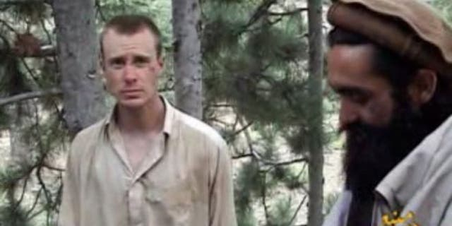 Bowe Bergdahl, left, was held by militants for five years.
