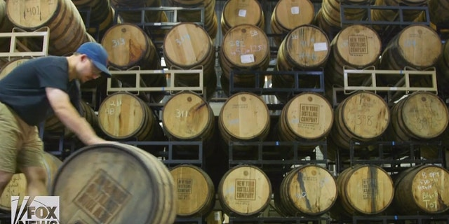 At the moment, New York Distilling Company produces around a thousand barrels of rye per year.
