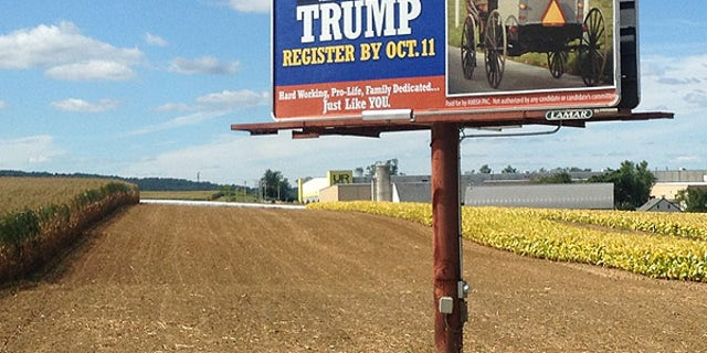 Amish PAC, has gone the traditional route, raising a modest $100,000 and spending it on billboards and newspaper ads to target Amish voters during a time when most money is being spent on social media and online ads.