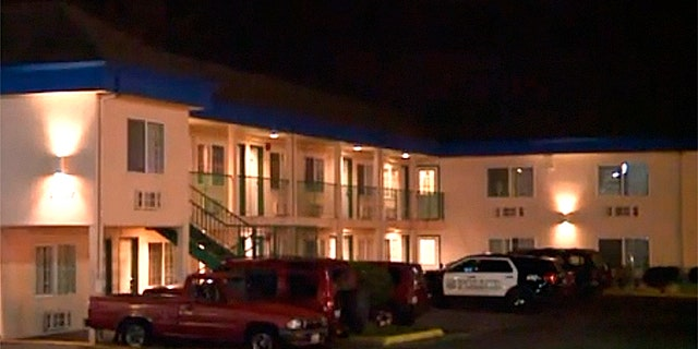 The stabbing took place at this motel in suburban Seattle.