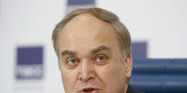 Anatoly Antonov, Russia's ambassador to the U.S.