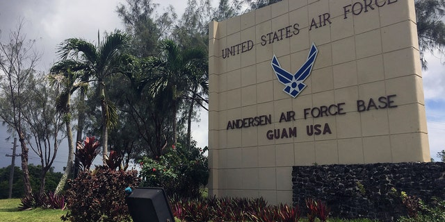 Andersen Air Force Base in Guam is used by U.S. heavy bombers, nuclear and conventional, to overfly the Korean peninsula.