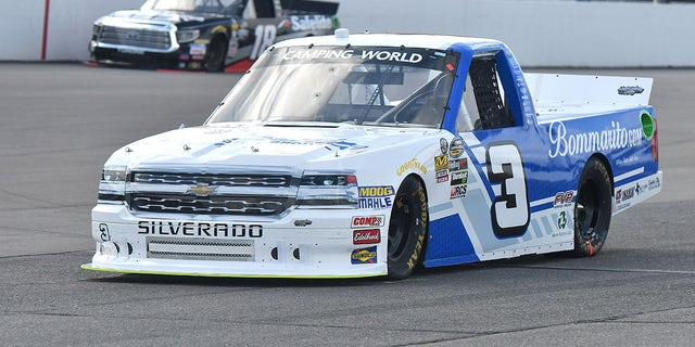 Anderson is currently in 16th place in the Camping World Truck Series standings.
