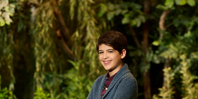 "ANDI MACK - Disney Channel's ""Andi Mack"" stars Joshua Rush as Cyrus. (Disney Channel/Craig Sjodiin)"