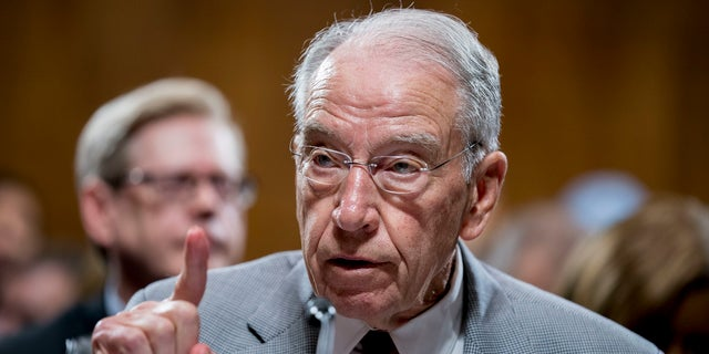 Sen. Chuck Grassley, R-Iowa, says he wouldn't advocate holding hearings for a Trump nominee. (Associated Press)