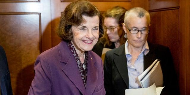 Sen. Dianne Feinstein is the ranking member of the Senate Judiciary Committee.